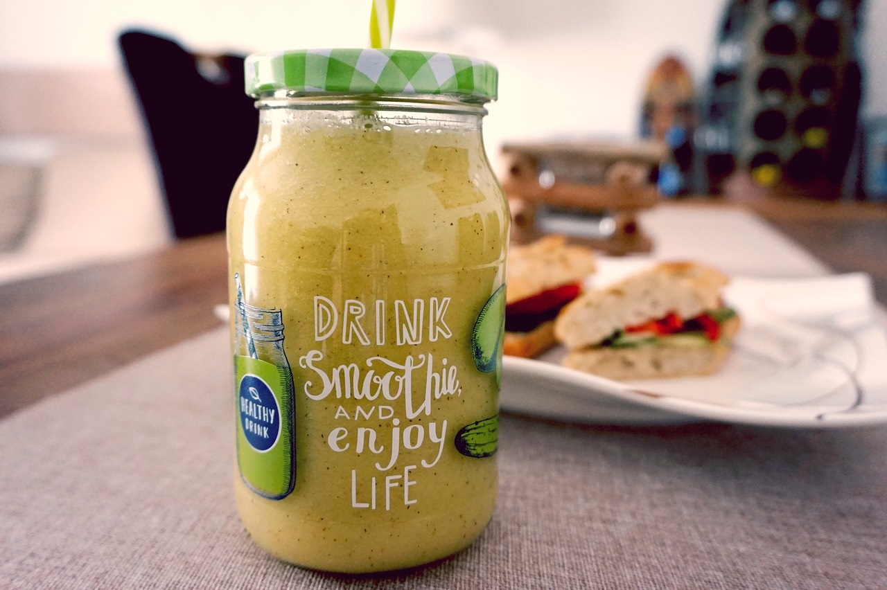 smoothie pomme citron
